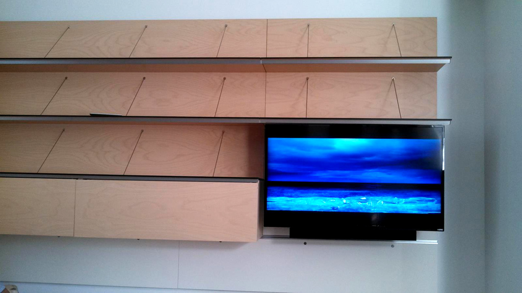 Finished Look with Sound Bar