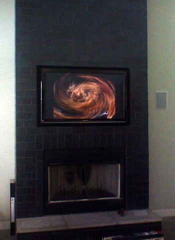 50 inch panasonic plasma fireplace mount electronics