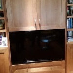 48 inch Sony on flosting cantilever mount