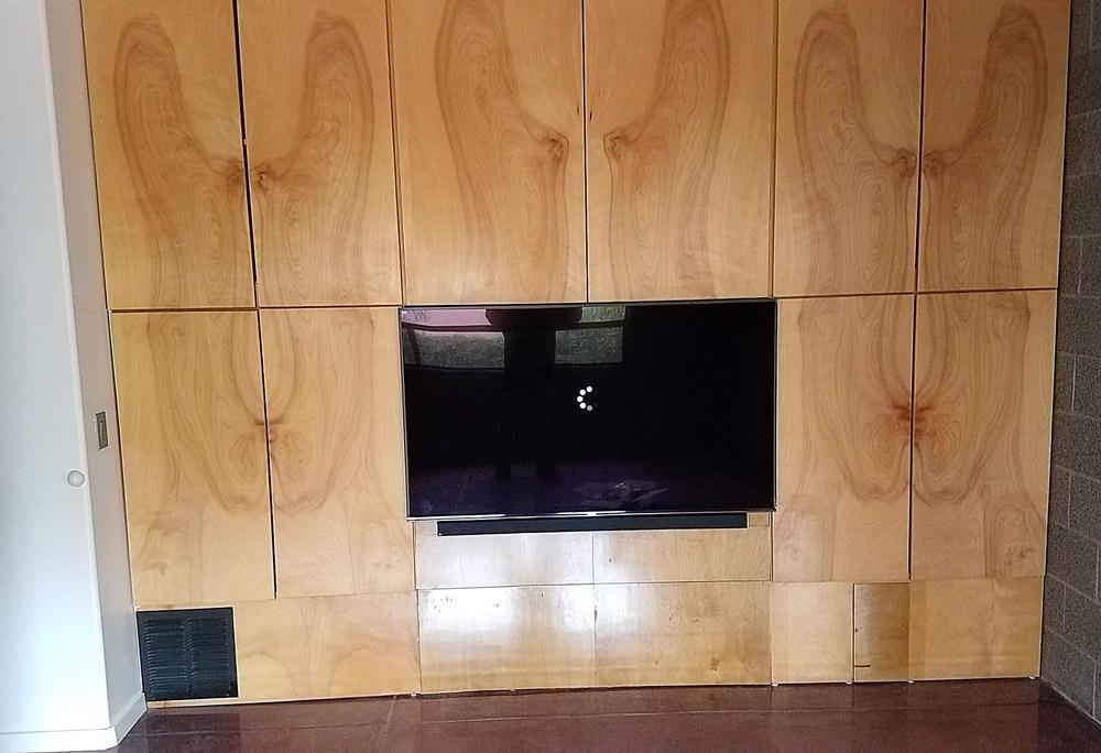 Custom Cabinet Install 2