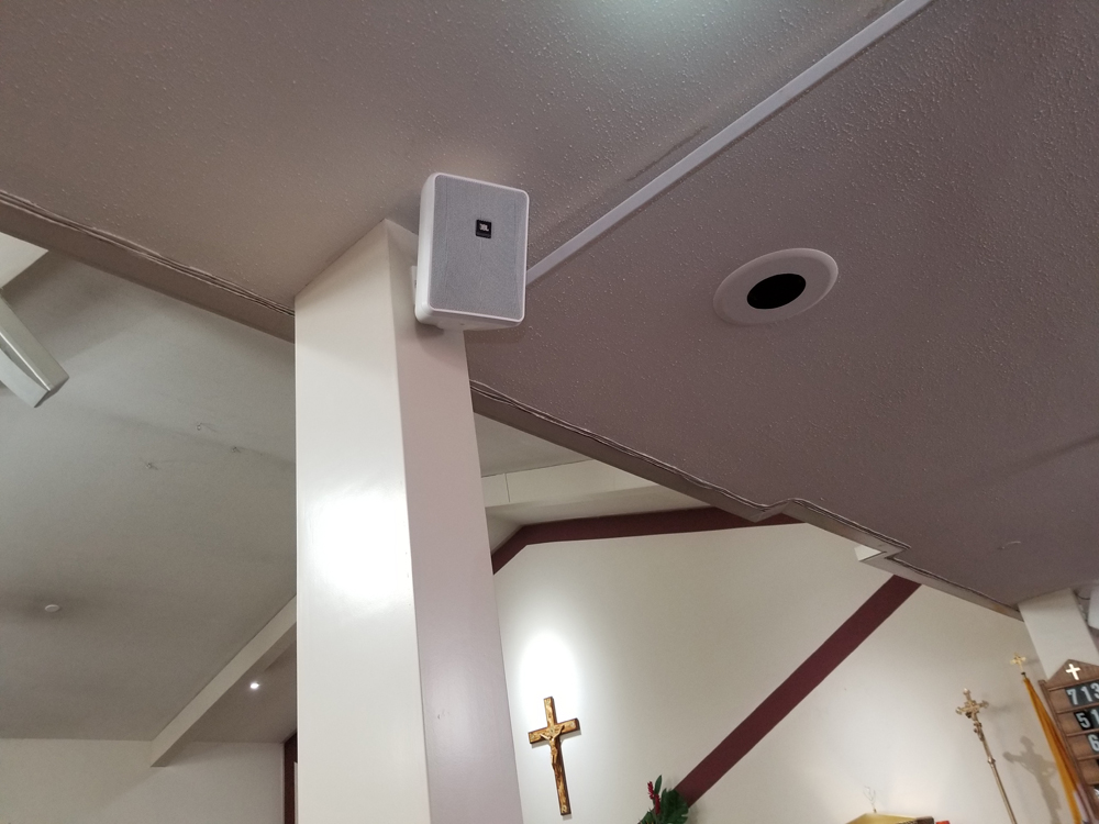 JBL Control 25 speakers in Surprise Church | Electronics