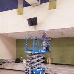 JBL Control Speakers In Gym