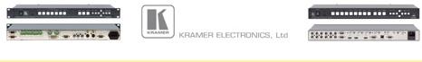 Kramer Electronics Church Sound
