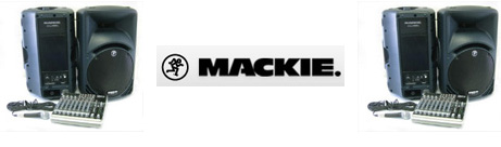 Mackie PA System