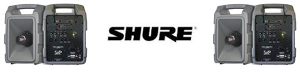 Shure PA System
