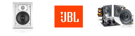 JBL In-Wall Speakers